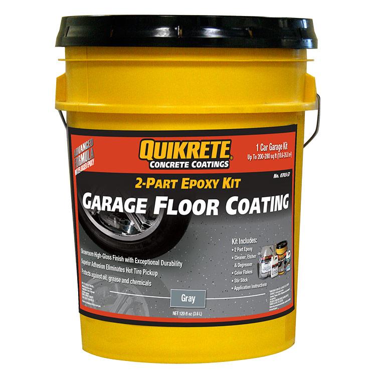 Quikrete Garage Floor Epoxy Coating